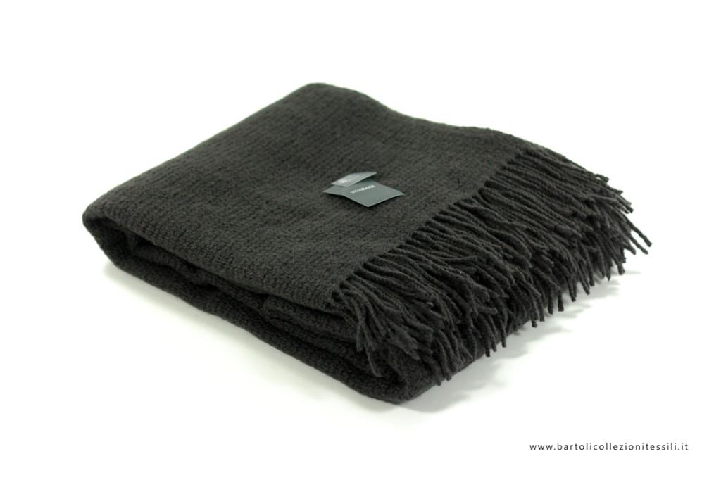 Vivaraise, plaid in lana grigio 140x200 cm