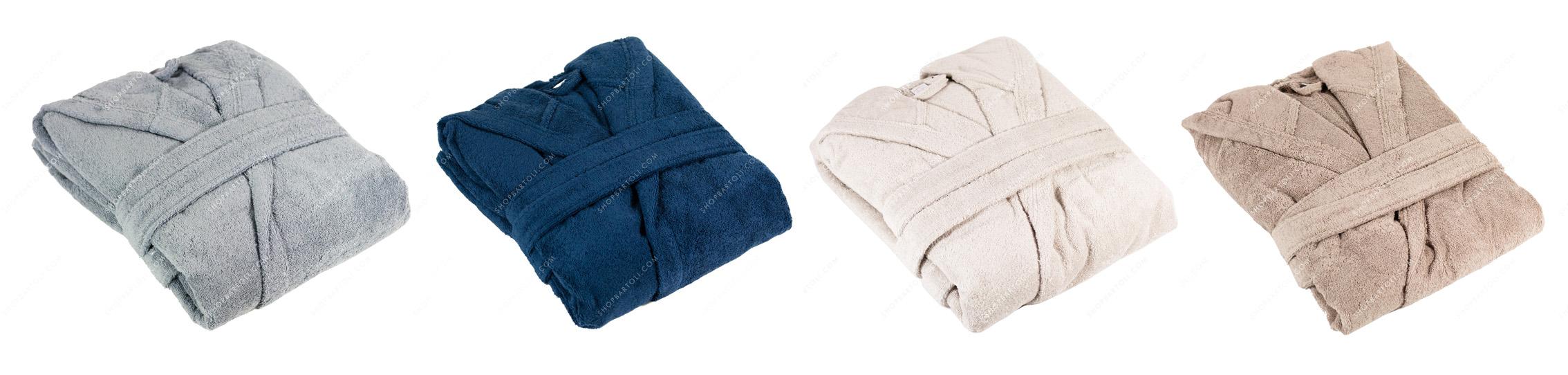 Accappatoi uomo donna, biancheria per la casa e asciugamani