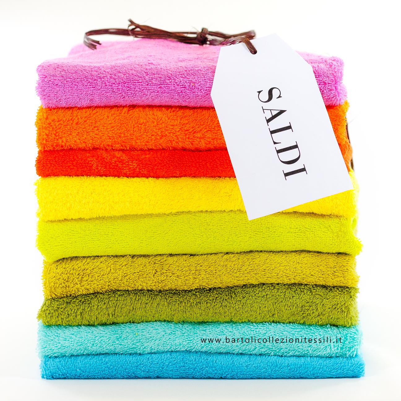 Saldi Biancheria per la casa e tappeti - asciugamani colorati
